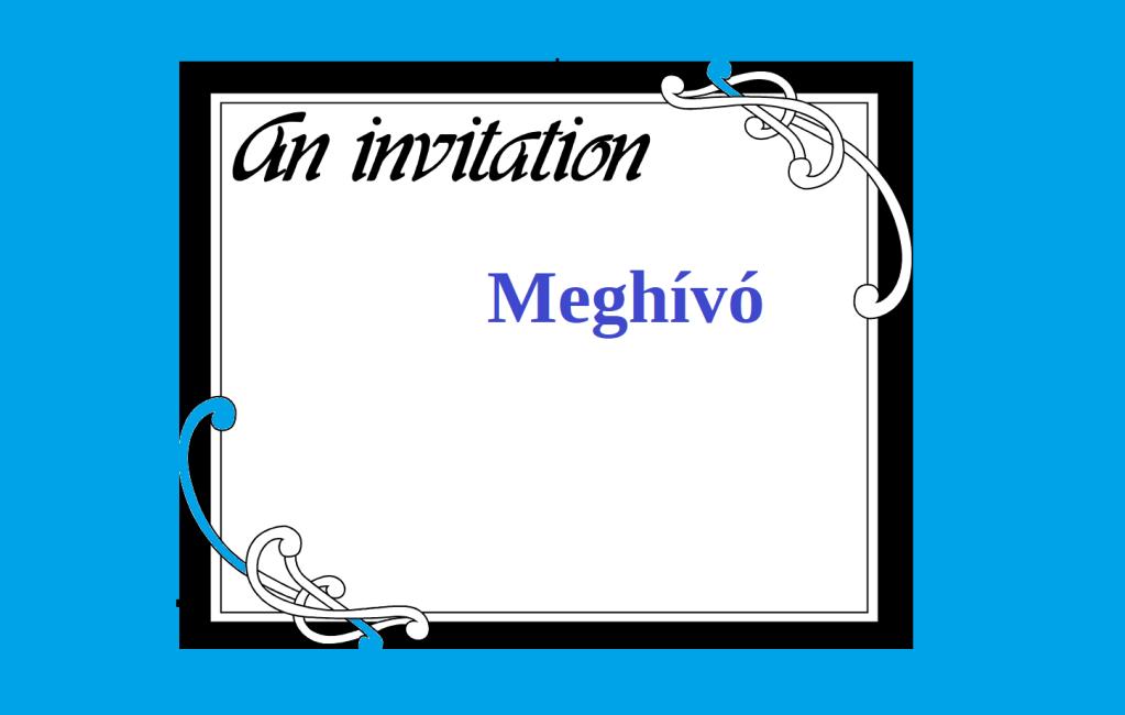 "Help Hungary! ""Invitation"" Meghívó - https://katakombablog.com/meghivo/"