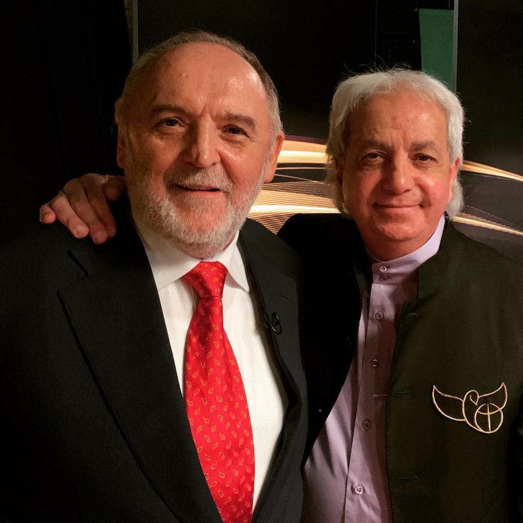 Sándor Németh and Benny Hinn