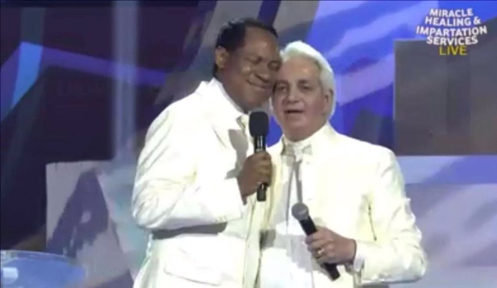 Chris Oyakhilome and Benny Hinn
