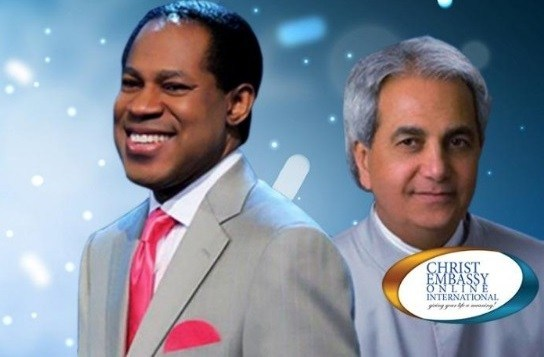 Chris Oyakhilome and Benny Hinn - the new television channel