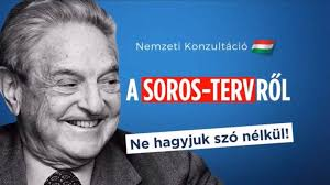 Hungary lashes out at Soros with poster campaign