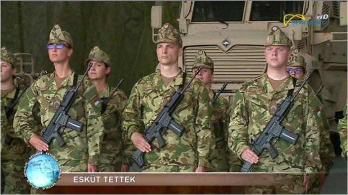 Gáspár Orbán (Viktor Orban's son), a professional soldier (Pesti srácok.hu 13 June 2019)