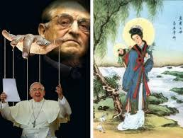 "Pope Francis is a ""Soros Puppet"". (Pesti Srácok / Tutiblog.com)"