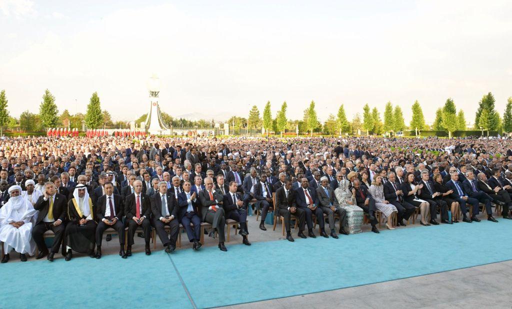 Gáspár Orbán, Erdoğan's inauguration, 2018 (444.hu)