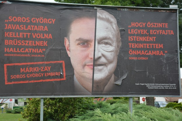 Opposition candidate elected Mayor of Hódmezővásárhely = George Soros (Photo: Bod Tamás - Magyar Narancs)