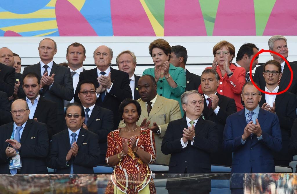 Gáspár Orbán, Vip Box, 2014 World Cup 2014 (444.hu)