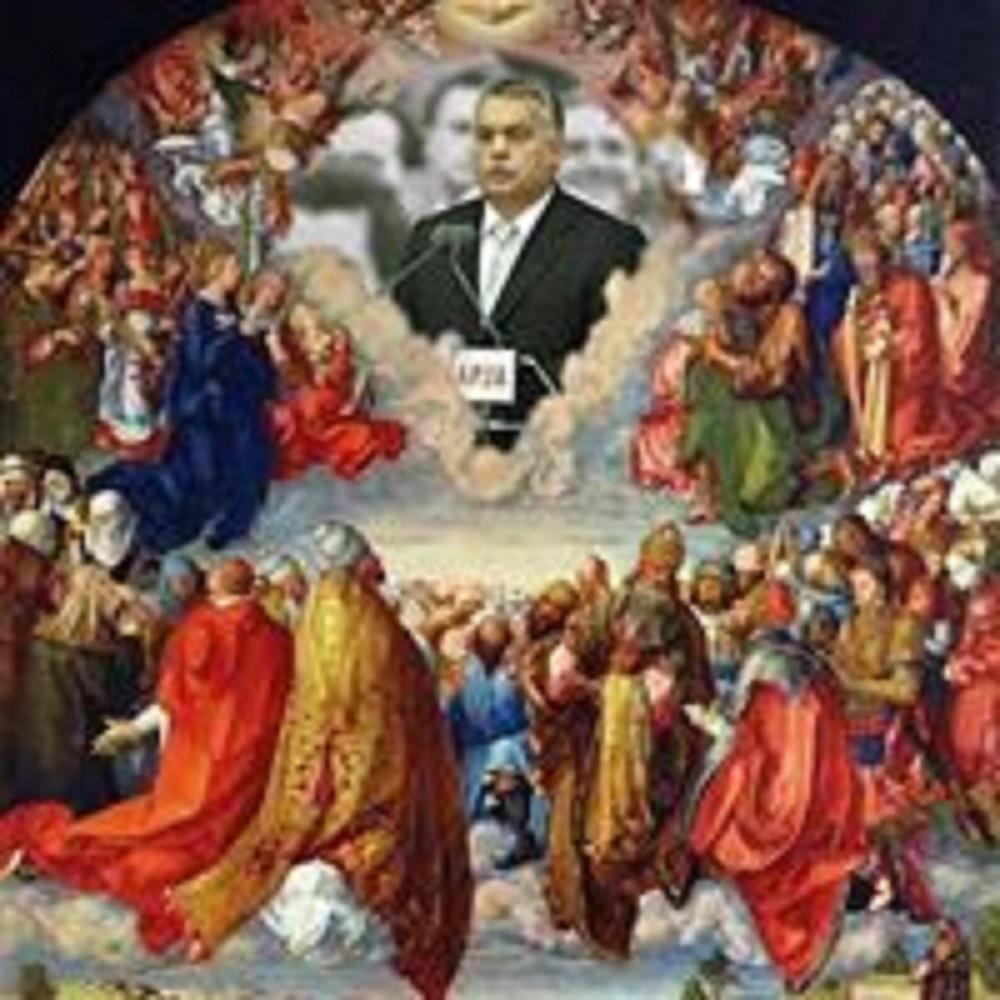 Viktor Orbán = Holy Trinity