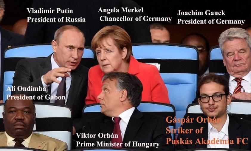 Gáspár Orbán, Vip Box World Cup 2014 (Vastagbőr-Átlátszó)