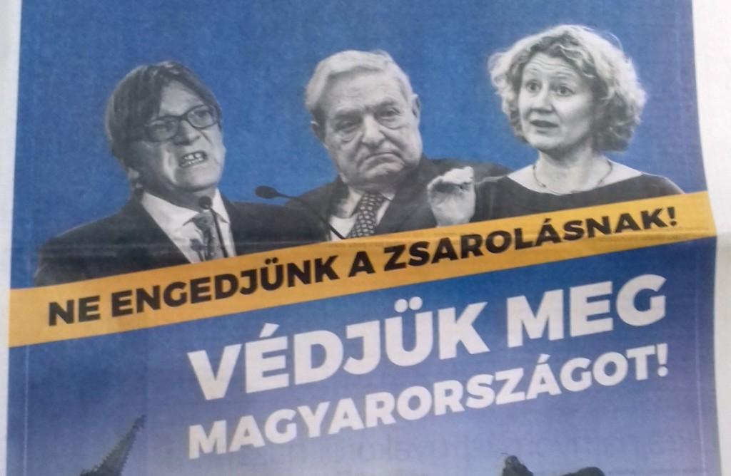 MEP Guy Verhofstadt, MEP Judith Sargentini (Poster)