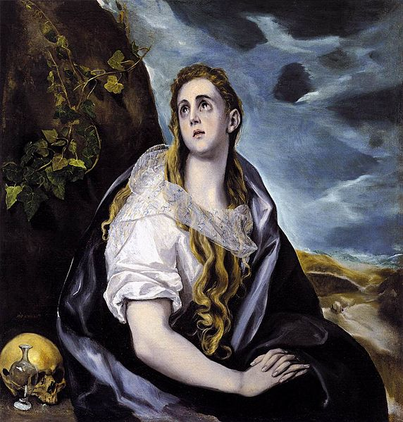 El Greco: The Repentant Magdalen